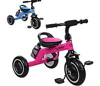 Велосипед  детский трехколесный со светящиеся колесами