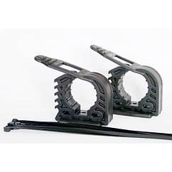 Хомут FITRUB 32-45 mm (Комплект: 2 хомут + 4 фиксаторы + 2 шайбы)