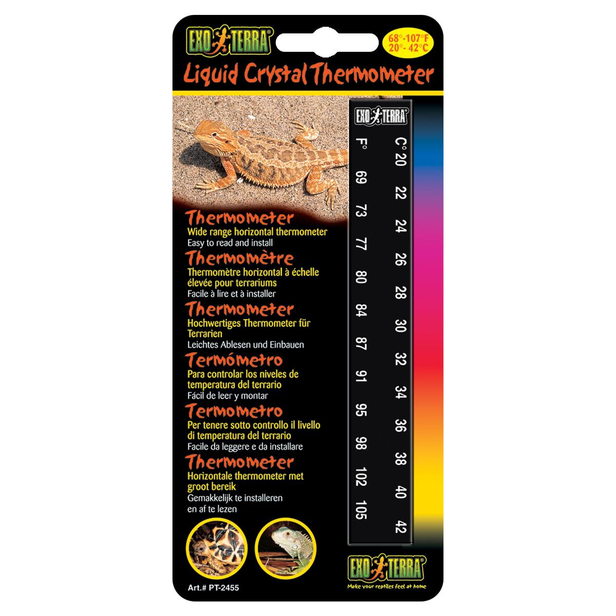 Термометр для террариума Exo Terra с наклейкой