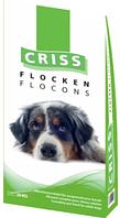 Крокеты CRISS мясо/хлопья для взрослых собак всех пород 20 кг