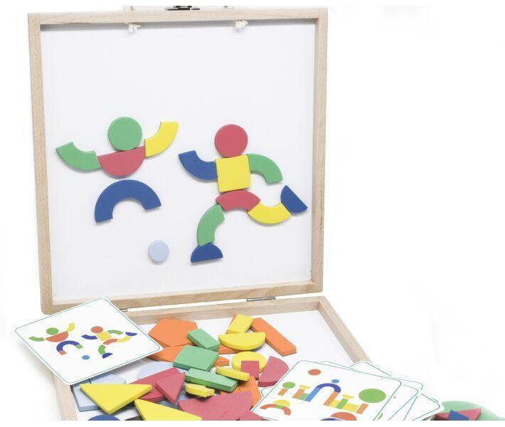 Навчальна іграшка Lucy&Leo Коробка з фігурами