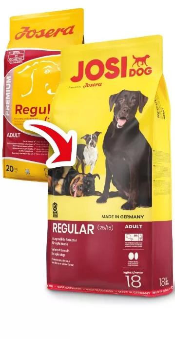 Сухий корм Josi Dog Regular 18 кг для дорослих собак