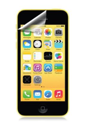 Гідрогелева захисна плівка AURORA AAA на iPhone 5c на весь екран прозора