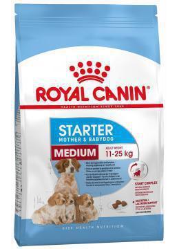 Сухий корм (Роял Канін) Royal Canin Medium Starter 12 кг для собак для сук в останній третині вагітності