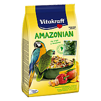 Корм для крупных амазонских попугаев Vitakraft «Amazonian» 750 г
