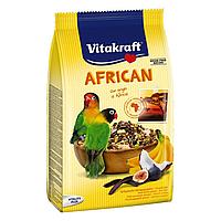 Корм для средних африканских попугаев Vitakraft «African» 750 г