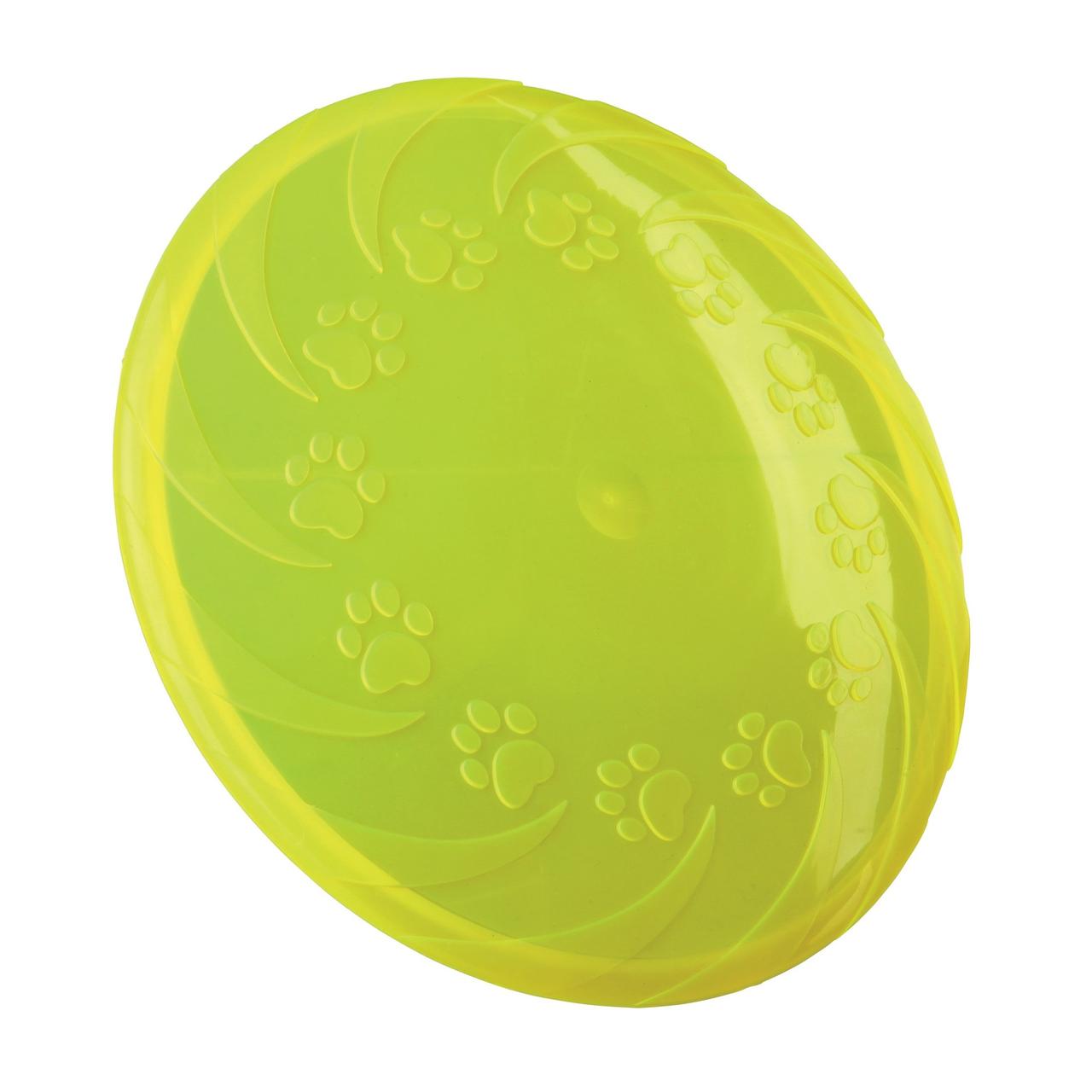 Іграшка для собак Trixie Літаюча тарілка d=18 см (термопластична резина, кольори в асортименті)