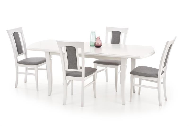 Стіл розкладний FRYDERYK 160(200)х90 білий (Halmar)