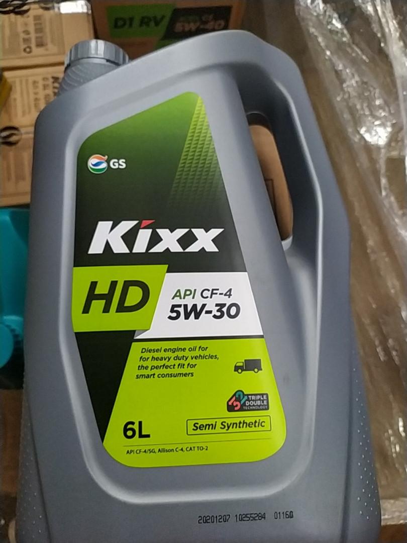 Масло KIXX HD 5W-30 6 л