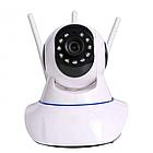 Камера видеонаблюдения Wi-Fi Smart NET Camera Q6 3 антенны, фото 2
