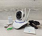 Камера видеонаблюдения Wi-Fi Smart NET Camera Q6 3 антенны, фото 3