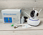 Камера видеонаблюдения Wi-Fi Smart NET Camera Q6 3 антенны, фото 4