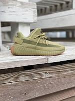 Женские кроссовки Adidas Yeezy Boost 350 V2 Sulfur / Адидас Изи Буст 350 В2 Сульфур