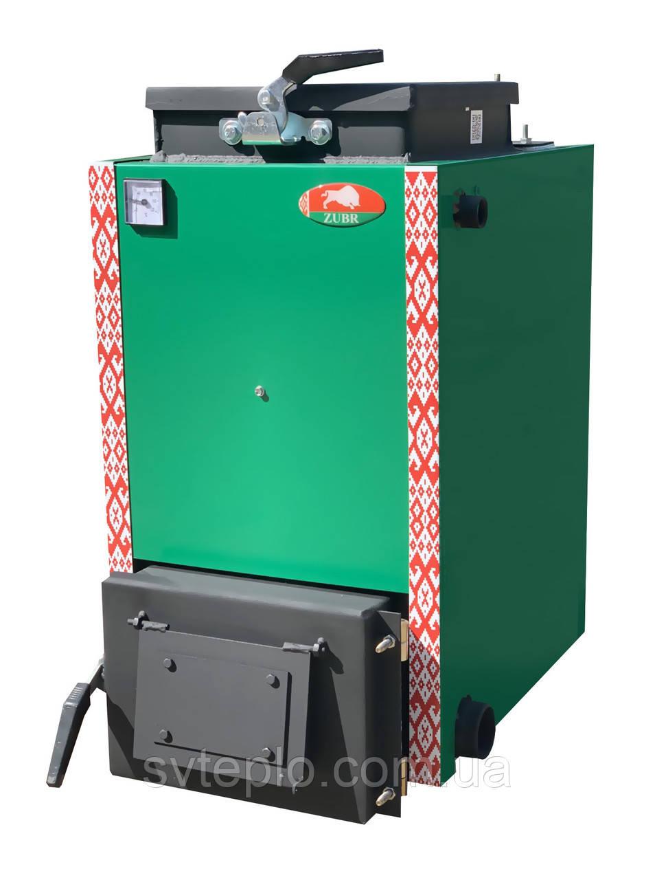 Шахтный котел Холмова Зубр Мини 12 кВт. Сталь 5 мм.