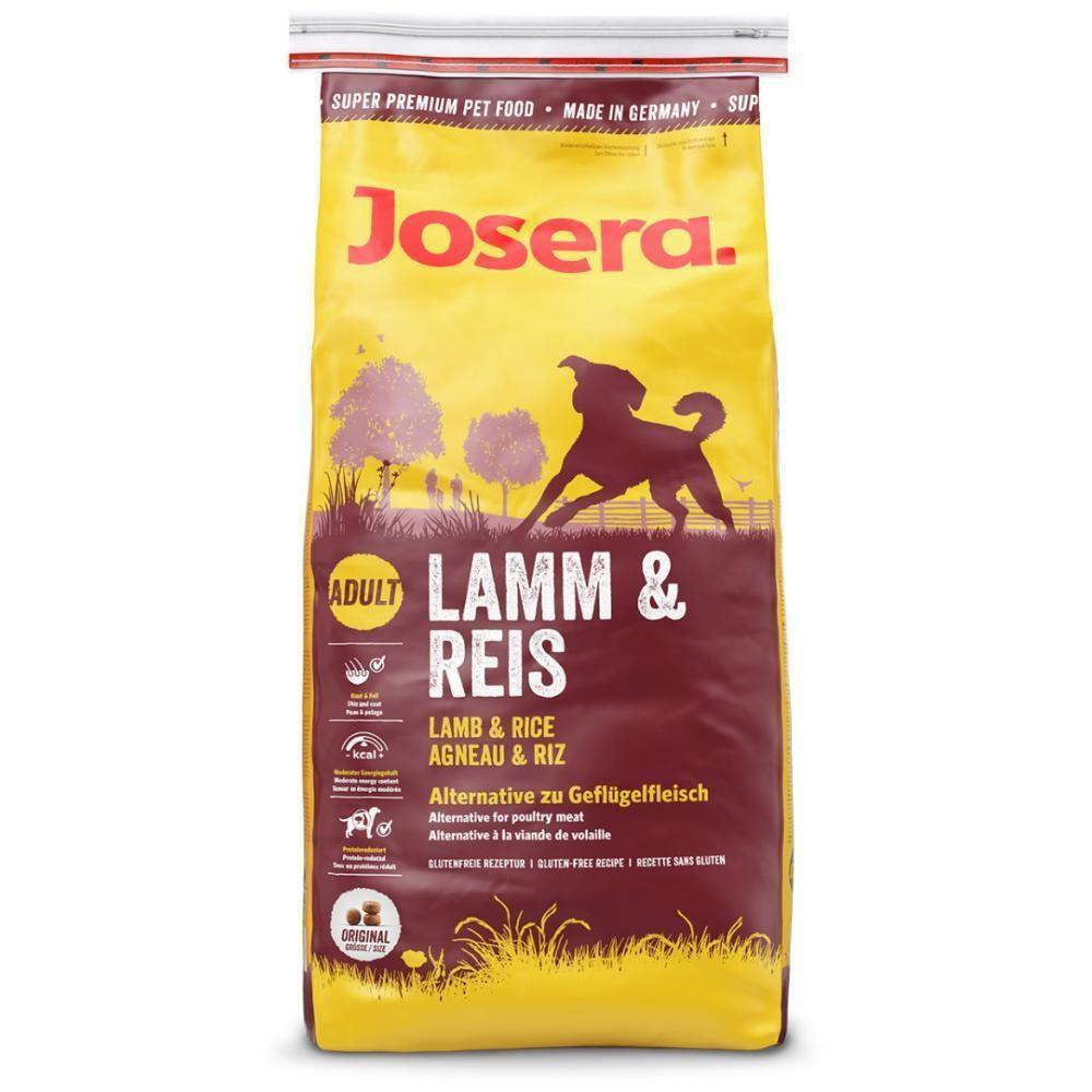 Корм для собак (Йозера) Josera Lamb & Rice 15 кг з ягням і рисом