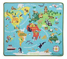 Игровой коврик Карта мира Melissa&Doug (MD15194)