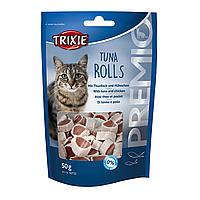 Лакомство для кошек Trixie PREMIO Tuna Rolls 50 г (курица и рыба)