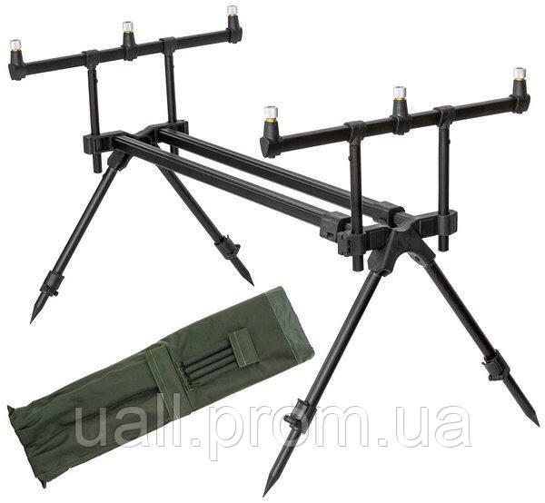 Рід під Carp Focus Zoom Rod Pod (для 3-х вудилищ, вага 1.8 кг)