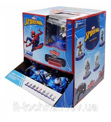 Коллекционная фигурка marvel domez dmz0030 Спайдермен collectible figure pack spider-man classic s1
