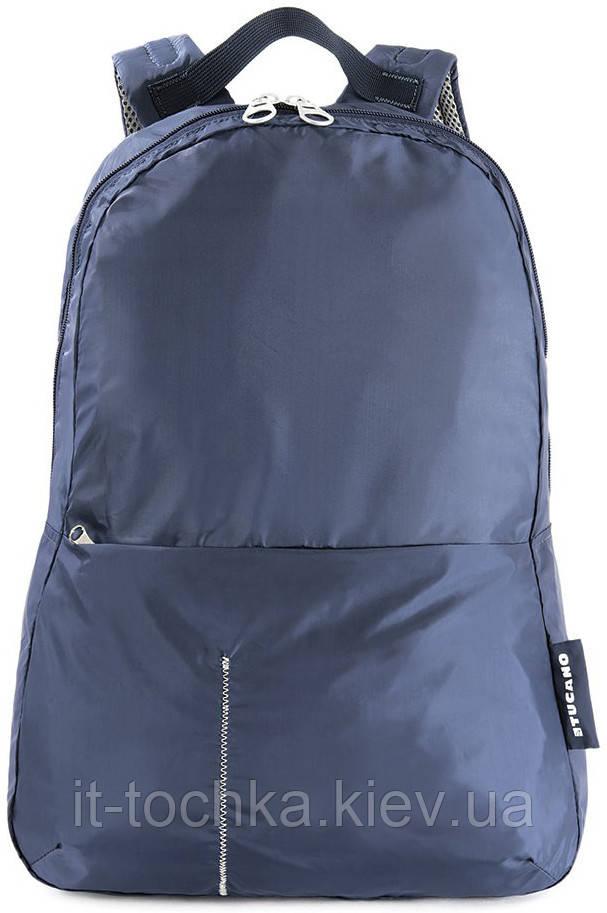Рюкзак міський tucano bpcobk-b blue compatto xl на 25 літрів