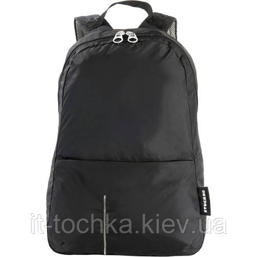 Рюкзак міський tucano bpcobk compatto xl backpack packable black на 25 літра
