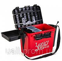 Ящик зимовий Lucky John пластиковий (високий) (38*26*31,5 см)