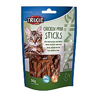 Лакомство для кошек Trixie PREMIO Mini Sticks 50 г (курица)