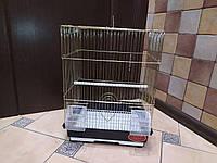 Клетка золото А405. 35*28*46. Для мелких попугаев.