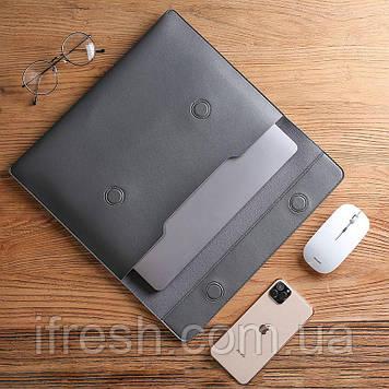 "Чехол - конверт для Ноутбука 15-16"", Dark grey"