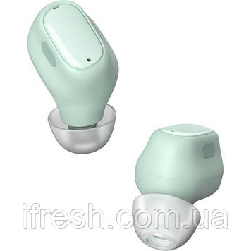 Беспроводные наушники Baseus Encok True Wireless Earphones WM01, Green (NGWM01-06)