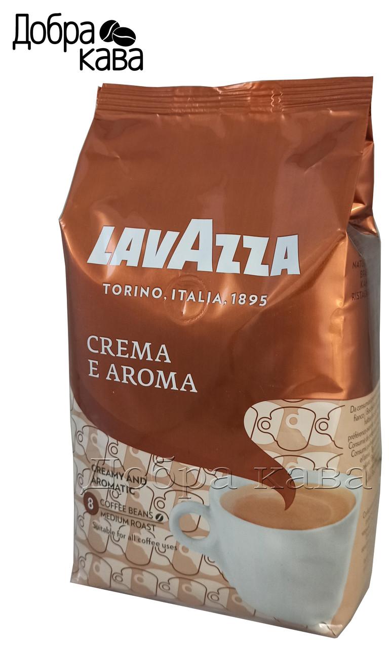 Lavazza Crema e Aroma (40% Арабика) кофе в зернах 1 кг