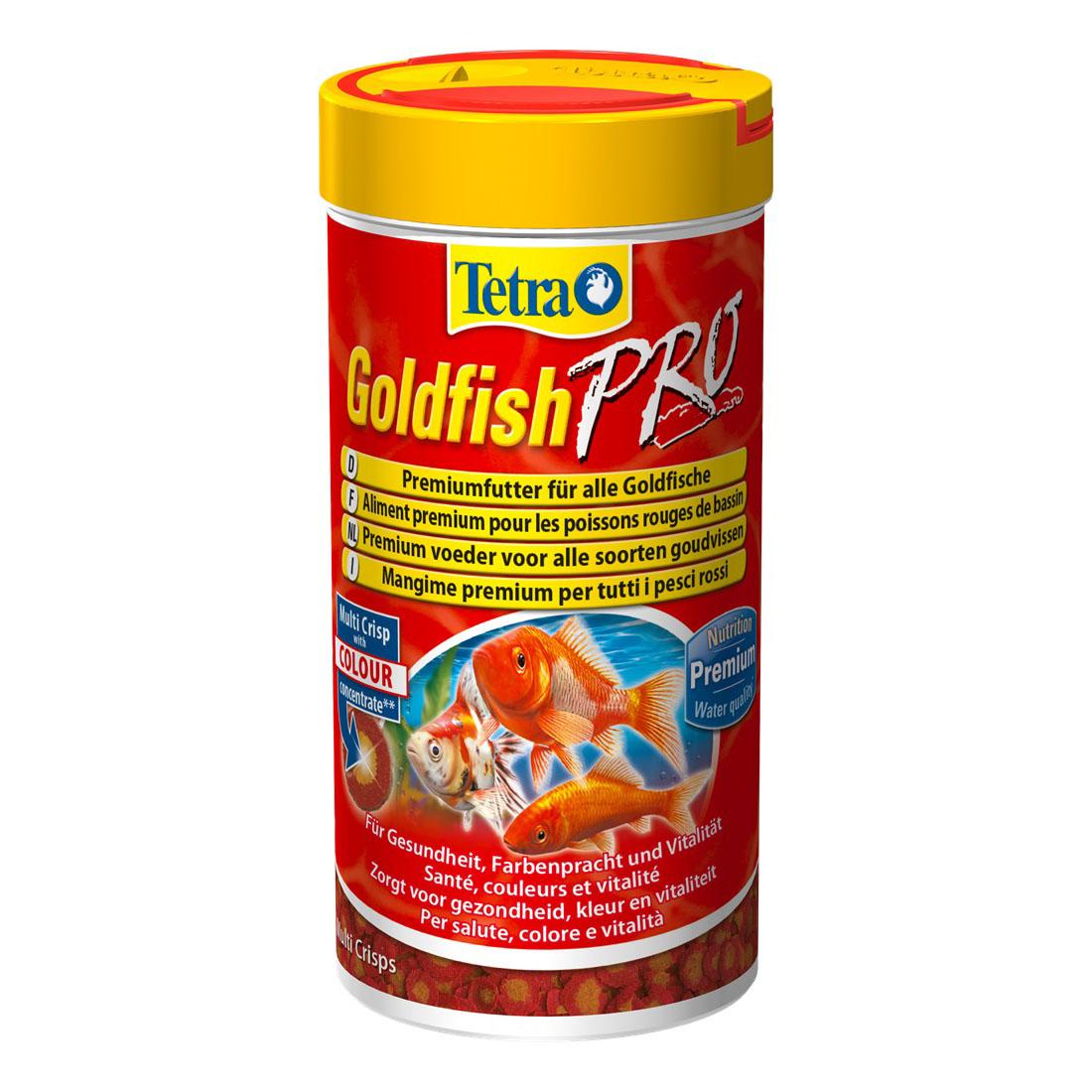 Сухий корм для акваріумних риб Tetra в чіпсах «Goldfish Pro» 100 мл (для золотих рибок)