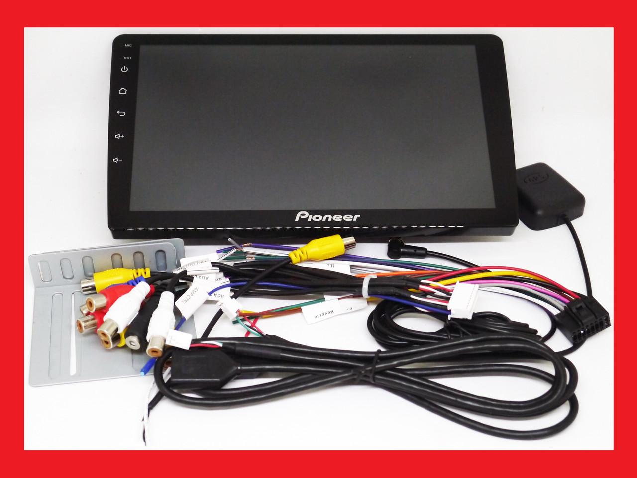 "2din Pioneer 8809 10"" IPS Экран GPS / 4Ядра / 1Gb Ram / Android"