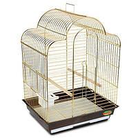 Клетка для птиц и попугаев 700А золото