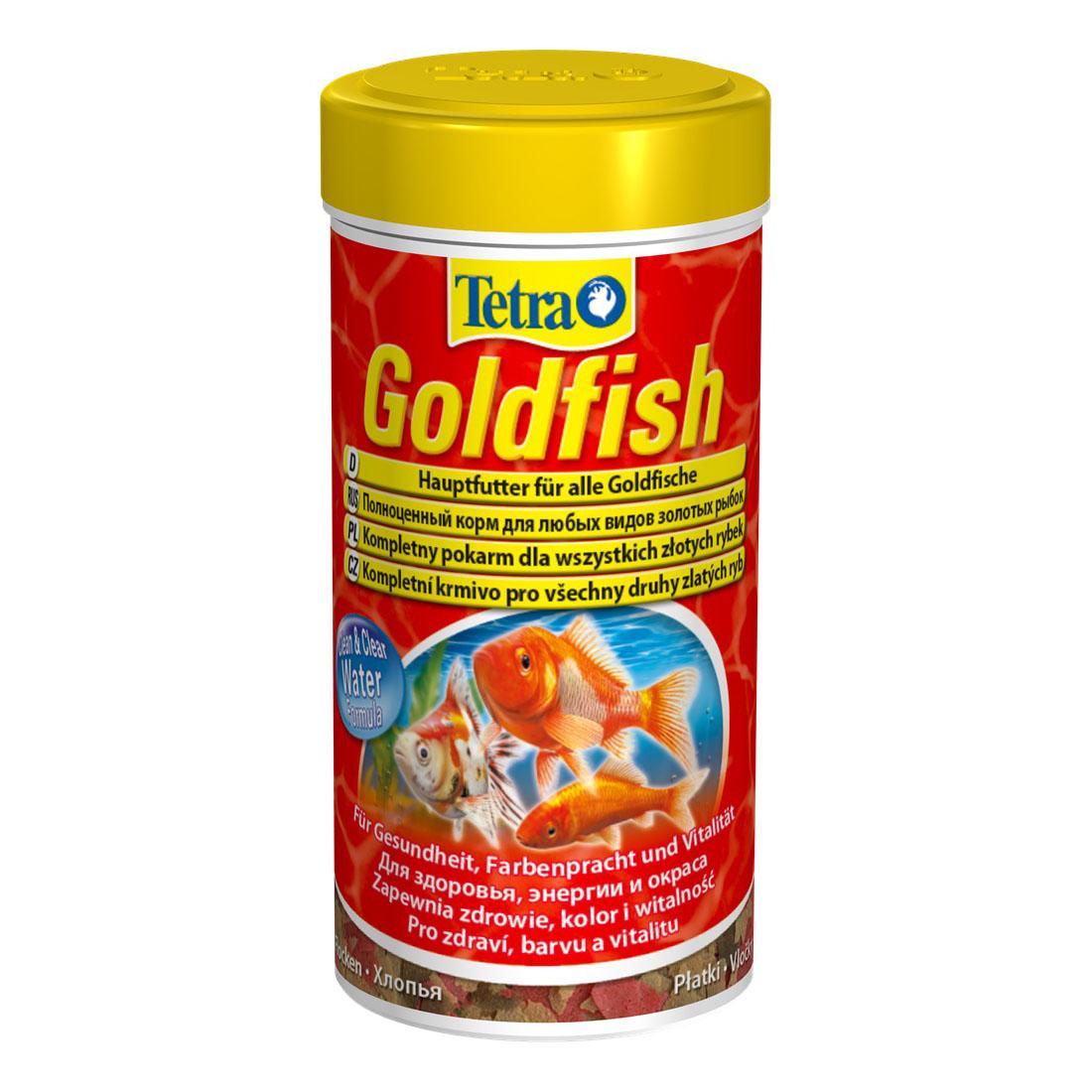 Сухий корм для акваріумних риб Tetra в пластівцях «Goldfish» 100 мл (для золотих рибок)