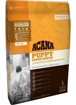 Сухой корм Acana Puppy Large Breed 11.4 кг для щенков крупных и огромных пород (цыпленок, камбала)