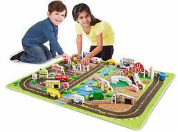 Игровой коврик с игрушками Мега-набор Melissa&Doug (MD5195)