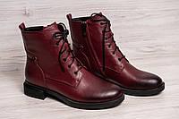 Женские ботинки (на шнурках) pollann Р.36.37.39.40.