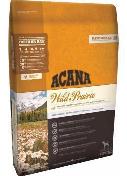 Сухой корм Acana Wild Prairie Dog 11.4 кг для собак всех пород и возрастов (цыпленок, индейка, судак, форель)