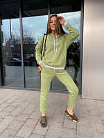 Качественный костюм женский спортивный из двунити
