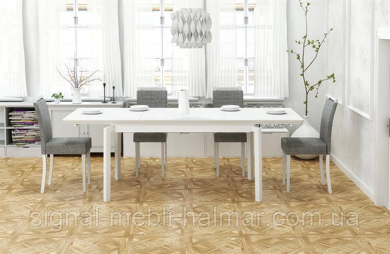 Стол раскладной ROIS белый halmar