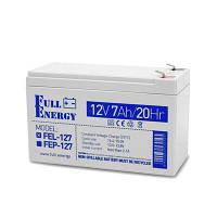 Акумулятор гелевий Full Energy FEL-127, 12В 7А/год