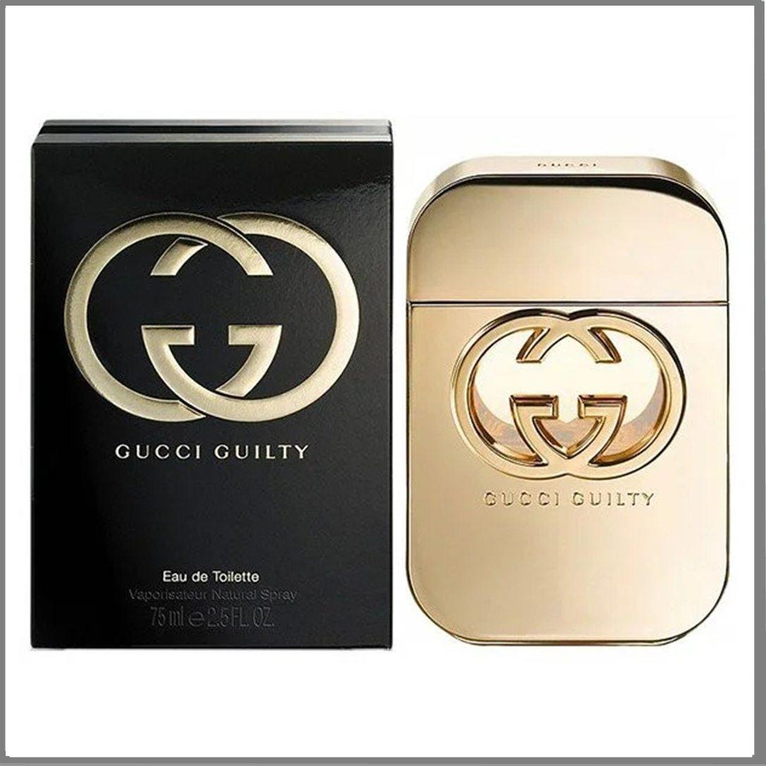 Gucci Guilty туалетна вода 75 ml. (Гуччі Гилти)