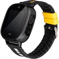 Дитячі розумні годинник (з GPS) Gelius ProBlox GP-PK005 Black, фото 1