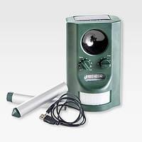 Відлякувач тварин SO-745 / Отпугиватель животных SO-745 на солнечной батарее с выбором частоты, фото 1