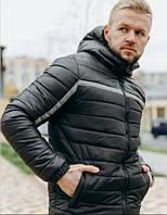 Зимняя черная брендовая мужская куртка Pride