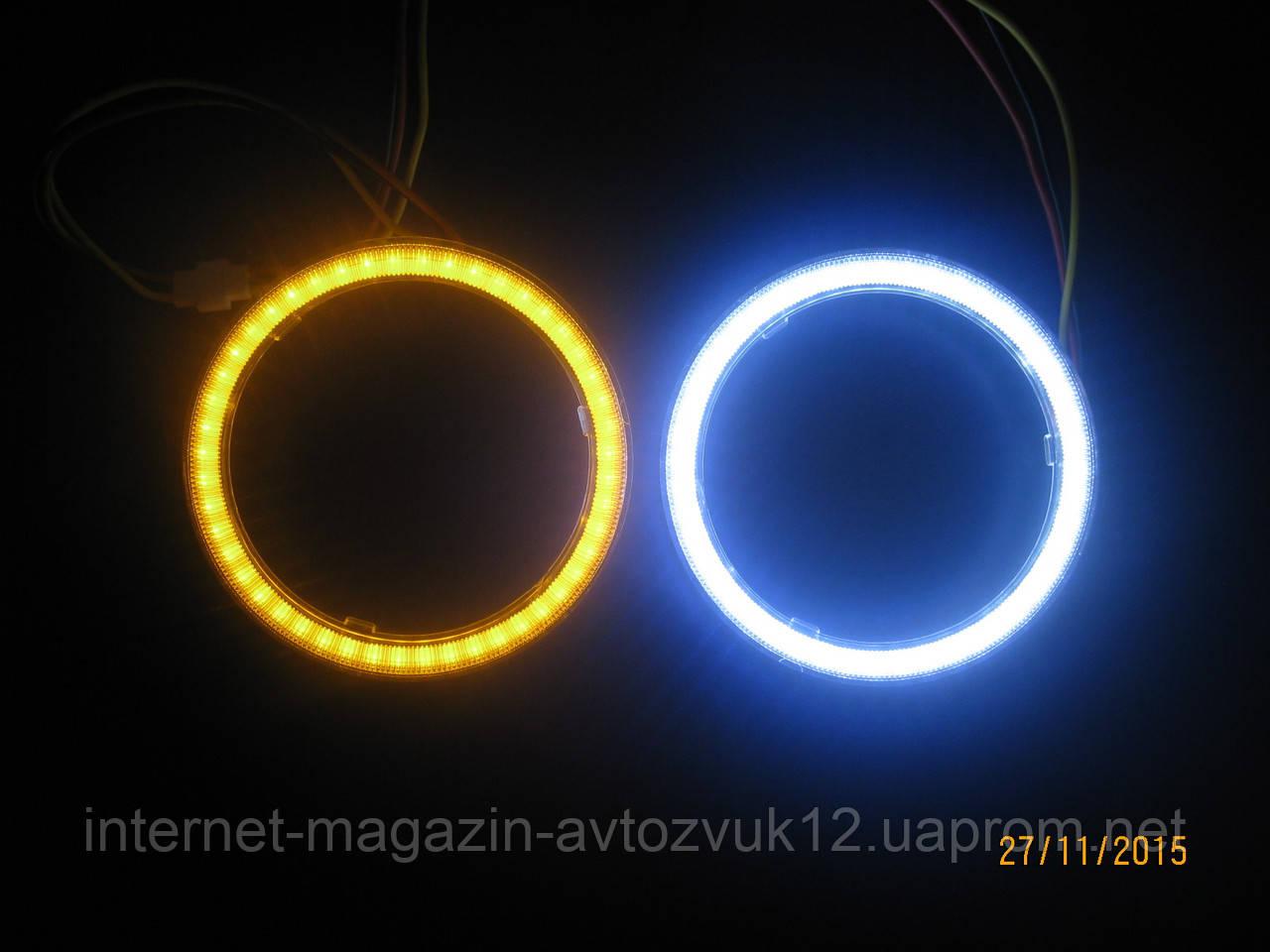 """Кольцо подсветки COB 2.5"""" (Белый) 80 мм для линз G5 2.5 + поворот"""