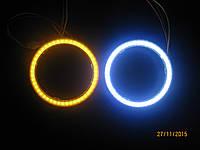 """Кольцо подсветки COB 2.5"""" (Белый) 80 мм для линз G5 2.5 + поворот, фото 1"""