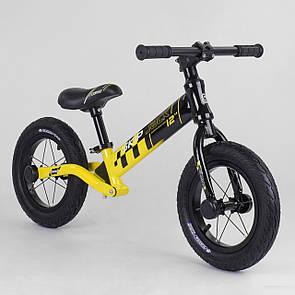 """Велобіг від Corso """"Skip Jack"""" 84115, колесо 12"""", алюмінієва рама, амортизатор"""