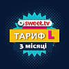 Sweet TV підписка на 3 місяці стартовий пакет L Світ тв онлайн телебачення більше ніж 6500 фільмів